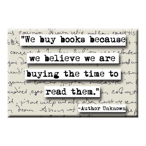 We Buy Books Magnet - Set of 3 Wholesale