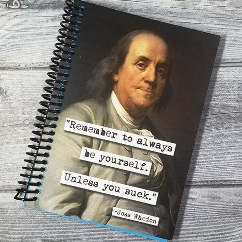 Joss Wedon Notebook- Set of 2 Wholesale