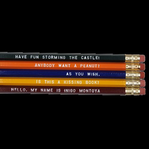 Princess Bride Pencils - 3 sets