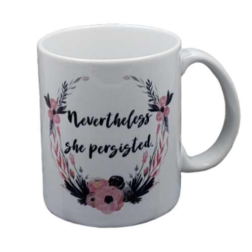 Nevertheless She Persisted coffee mug - wholesale set of 2