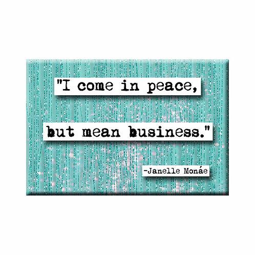 Janelle Monae Business Quote Magnet - Set of 3 Wholesale