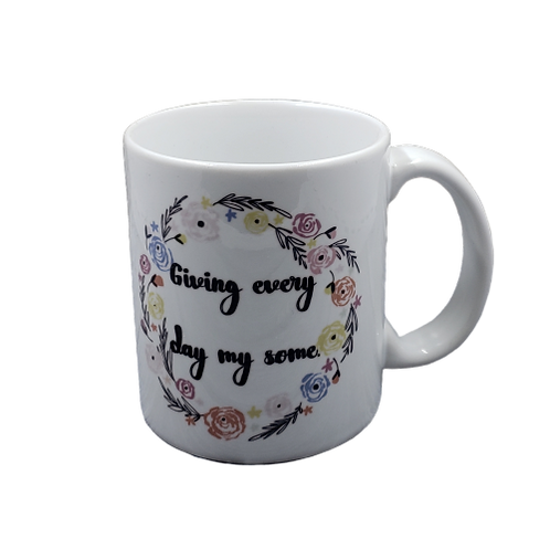 Giving Every Day My Some coffee mug - wholesale set of 2