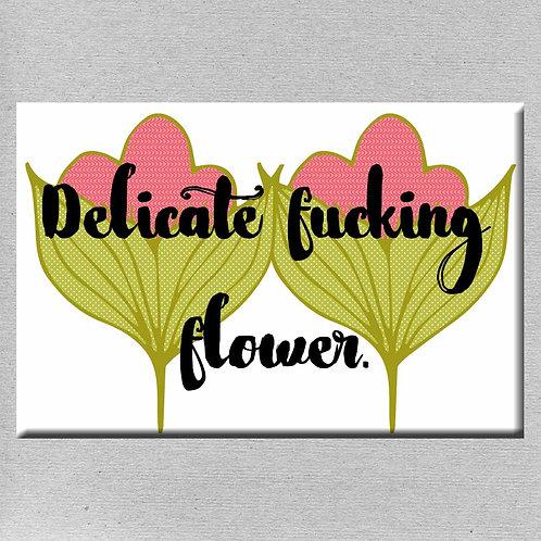 Delicate Fucking Flower Magnet- Set of 3 Wholesale