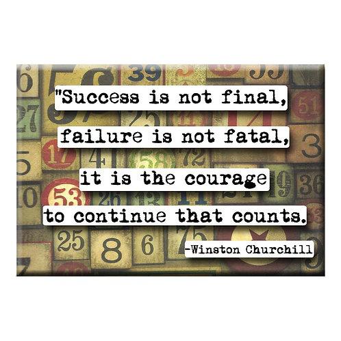 Winston Churchill Success - Set of 3