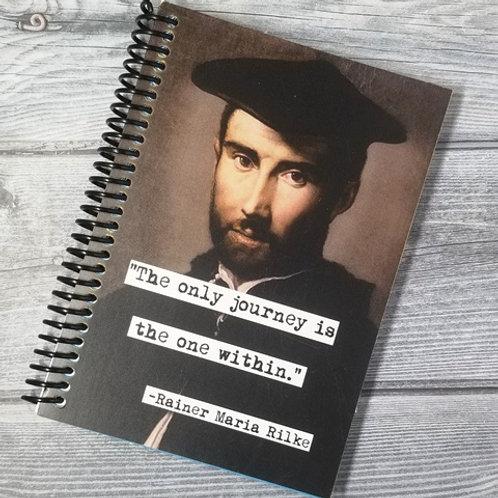 Rainer Maria Rilke Notebook- Set of 2 Wholesale