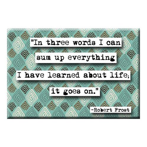 Robert Frost Magnet - Set of 3