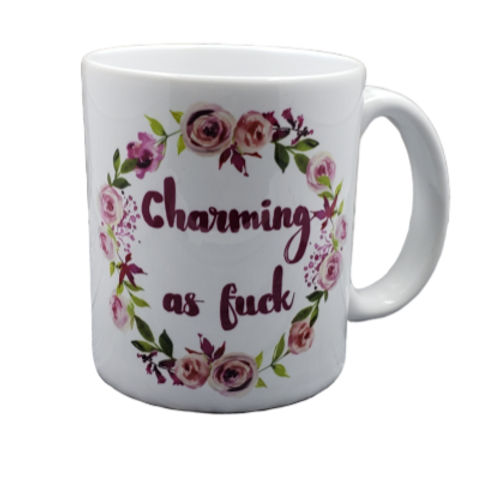 Charming as Fuck coffee mug - wholesale set of 2