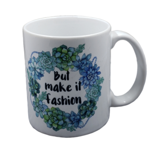 But Make it Fashion coffee mug - wholesale set of 2