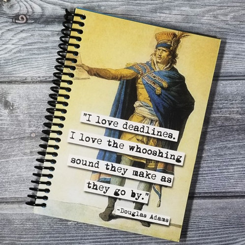 Douglas Adams Deadlines Notebook- Set of 2 Wholesale