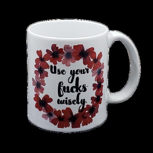 Use Your Fucks Wisely Coffee Mug -set of 2 wholesale