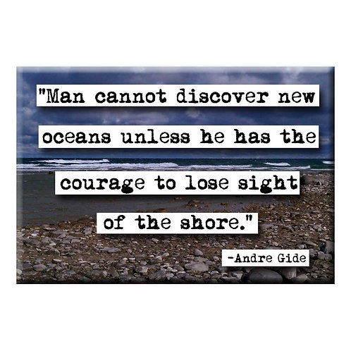 Andre Gide Shore Quote Magnet- Set of 3 Wholesale