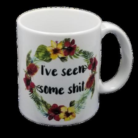 I've Seen Some Shit Coffee Mug Set of 2