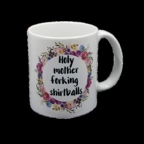 Holy Mother Forking Shirtballs Coffee Mug Set of 2