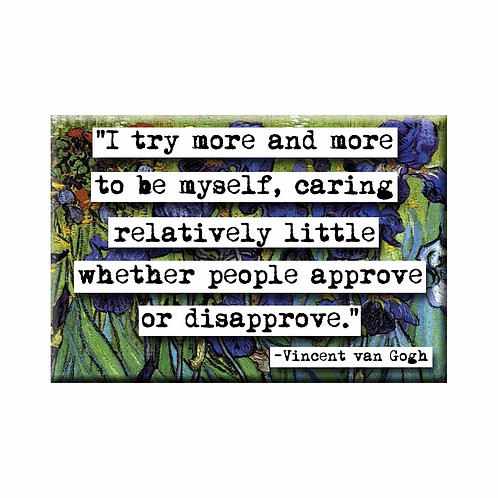 Vincent van Gogh Approve or Disapprove Quote Magnet - Set of 3 Wholesale