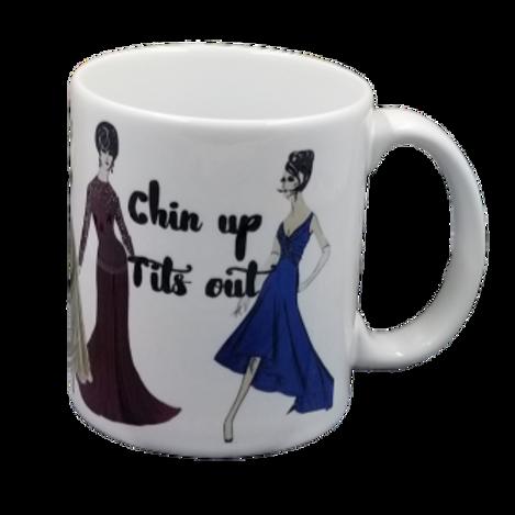 Chin Up Coffee Mug Set of 2 Wholesale