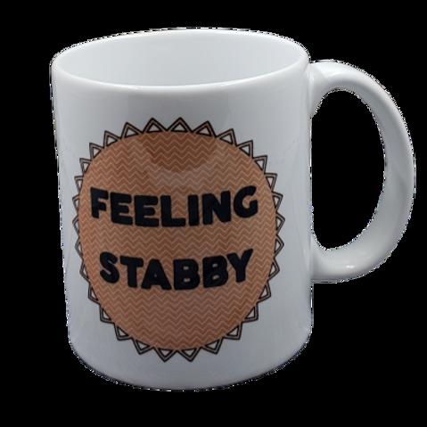 Feeling Stabby coffee mug - wholesale set of 2