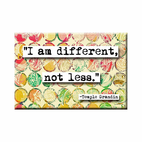 Temple Grandin Different Quote Magnet - Set of 3 Wholesale