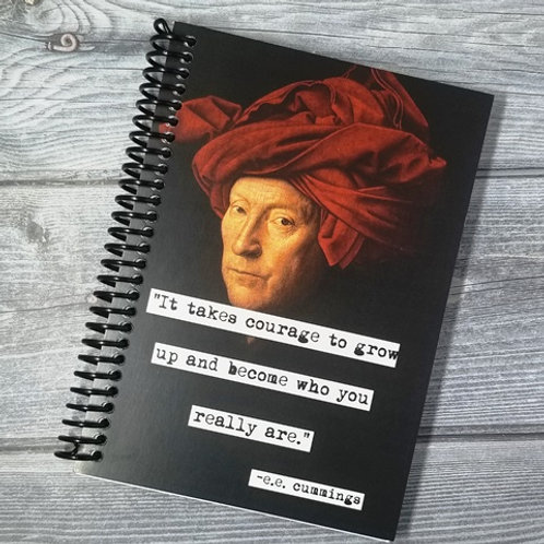 e. e. cummings Notebook- Set of 2 Wholesale