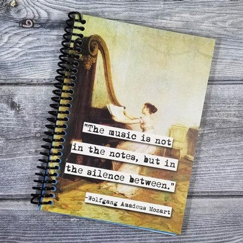 Wolfgang Amadeus Mozart  Notebook- Set of 2 Wholesale