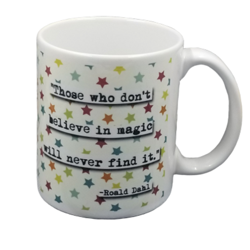Roald Dahl Coffee Mug Set of 2