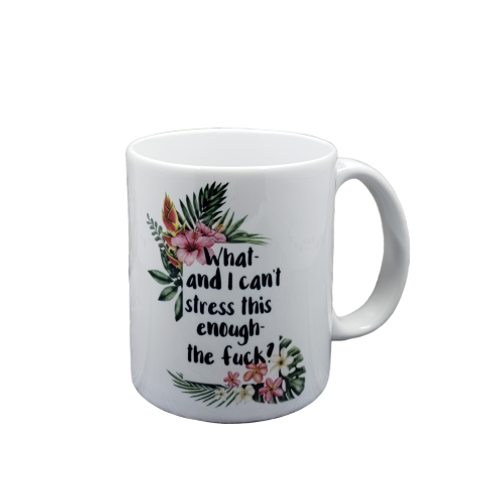 And I Can't Stress This Enough Coffee Mug Set of 2 Wholesale