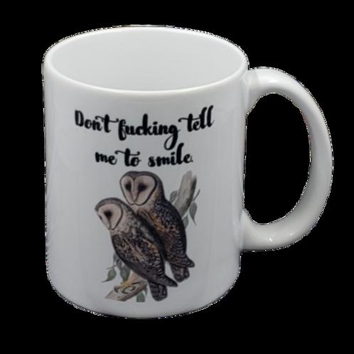 Don't Fucking Tell Me  coffee mug - wholesale set of 2