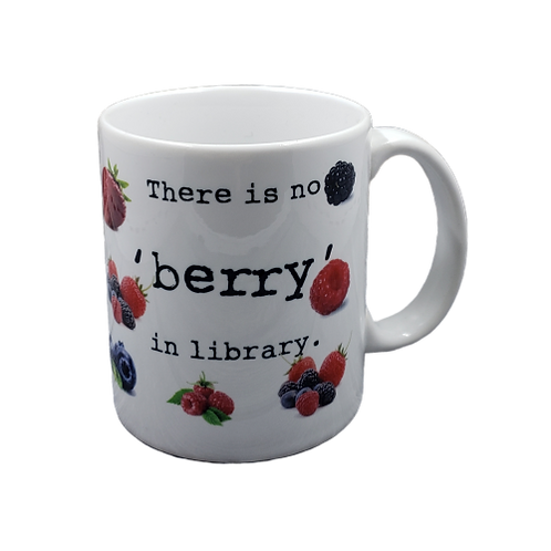 There is No Berry in Library coffee mug - wholesale set of 2