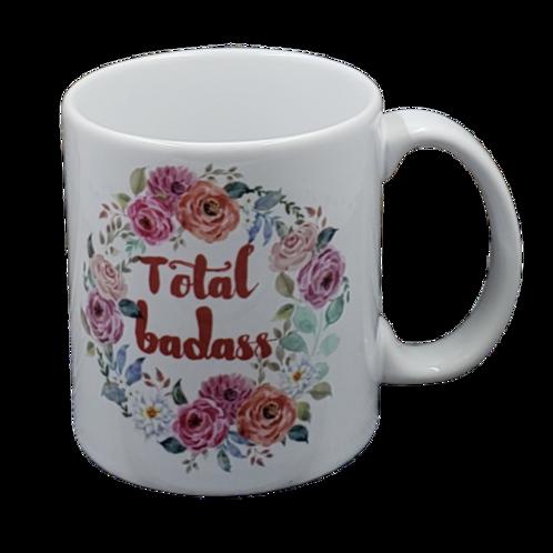 Total Badass coffee mug - wholesale set of 2
