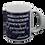 Thumbnail: William Morris Quote coffee mug - wholesale set of 2