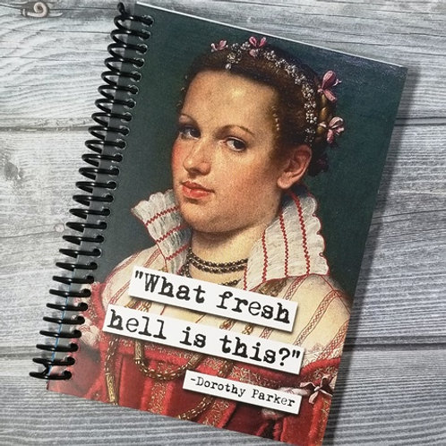 Dorothy Parker Fresh Hell Notebook- Set of 2 Wholesale
