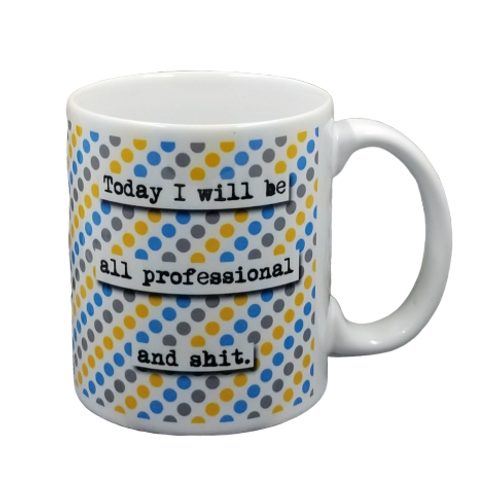 All Professional Coffee Mug Set of 2 Wholesale