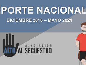 INCREMENTA SECUESTRO EN EL MES DE MAYO 2021