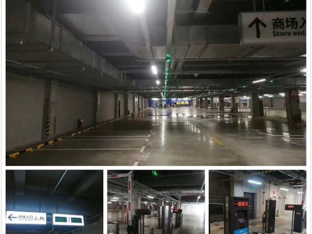 KEYTOP bring its latest Ticketless parking management system to IKEA QingDao