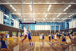 Exeter College Sports Hall