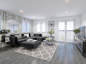 Widford Apartments Living Room