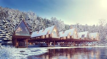 Norwegian Boathouse Lodges