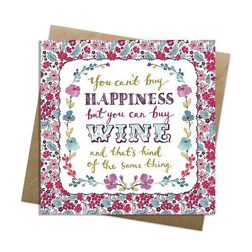 It's a Wine Thing Card