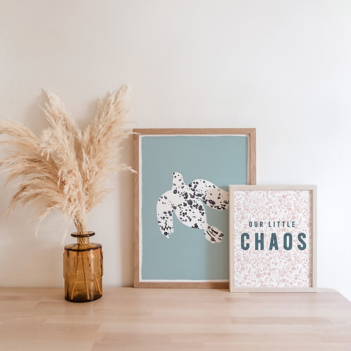 Our Little Chaos Print