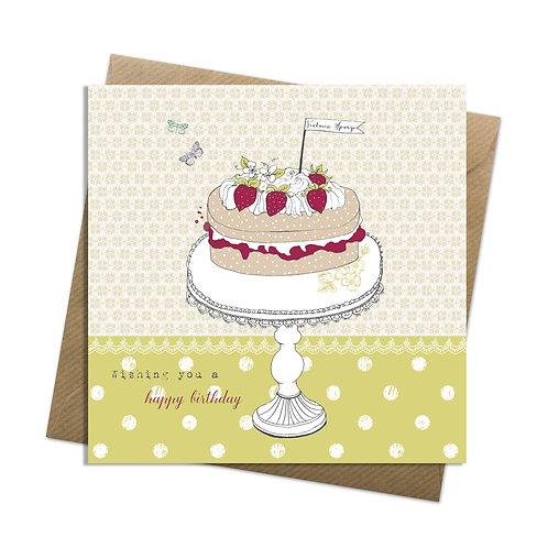 Victoria Sponge Card
