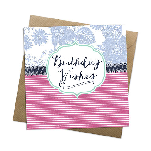 Blueberry Birthday Card