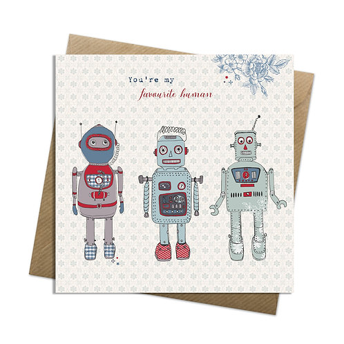 Robots Card