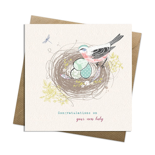 New Baby Nest Card
