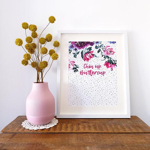 Bespoke Dotty Floral Print