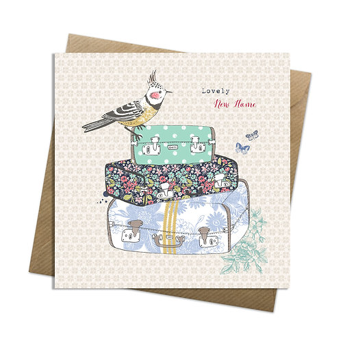 Packed Suitcases Card