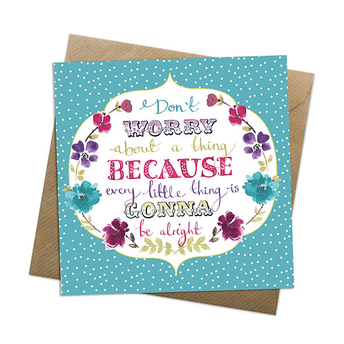 Every Little Thing Card