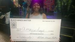 Black Minds Matter Scholarship Recipient Amaya Logie