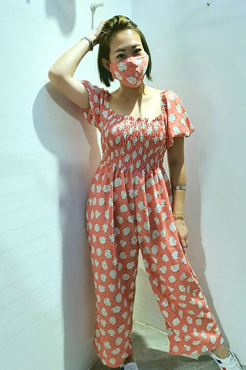 NK-061L JUMPSUITS IN PINK