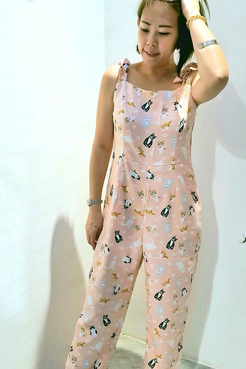 NK-078 JUMPSUITS IN PINK
