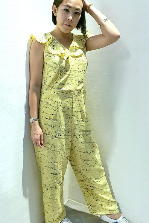 NK-062 JUMPSUITS IN YELLOW