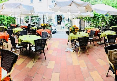terrasse du restaurant la recreation